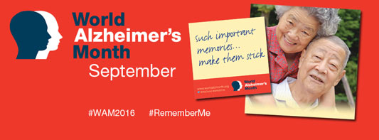 September is World Alzheimer's Month™